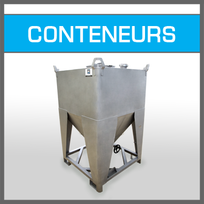 Solutions conteneurs - IBC Containers