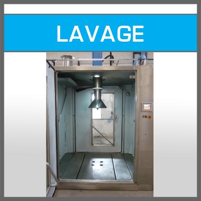 Station de lavage conteneurs - IBC Containers