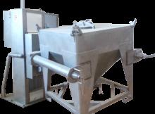 Mélangeur-conteneur-industriel
