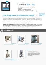 Fiche produit conteneur acier-inox