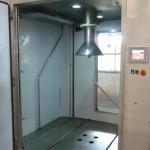 Cabine/station de lavage conteneurs